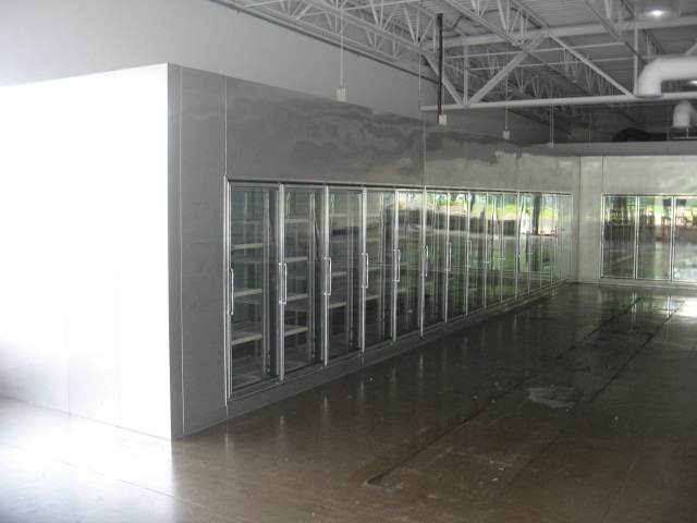Used Glass Door Display Walk In Coolers And Beer Caves