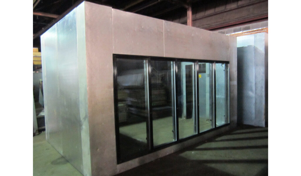 Used glass door display walk in coolers and beer caves 30024 5 planetlyrics Image collections