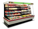 new supermarket coolers, deli, deli, produce, dairy cases
