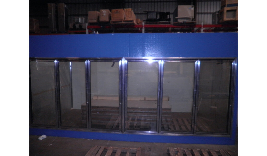 Used Glass Door Display Walk In Coolers And Beer Caves
