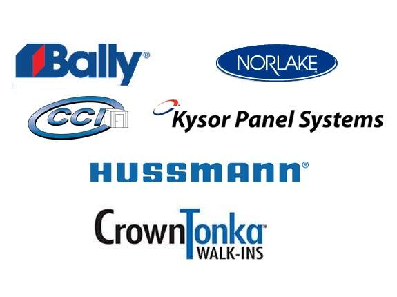 Hussmann, Kysor, Norlake, Bally, Carroll Coolers. The top brand walk in coolers in the industry.