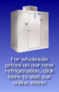 Wholesale Deals on New Refrigeration at Our Online Store