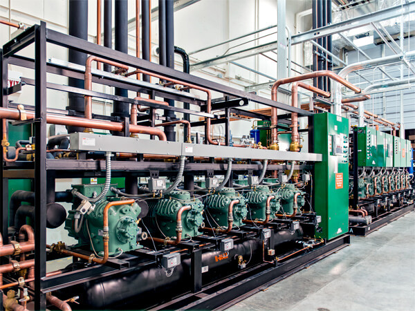 Used Parallel Rack Systems And Copeland Compressors
