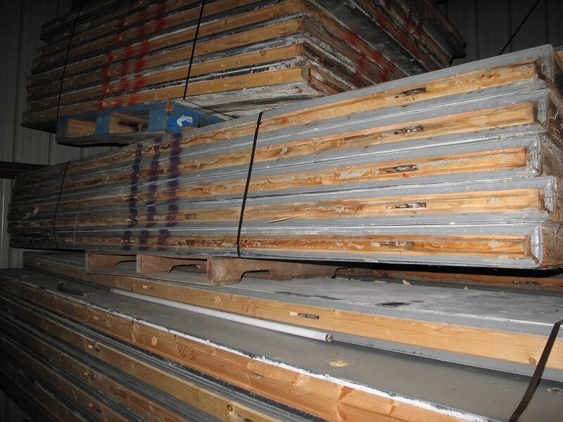 Used Freezer And Cooler Panels
