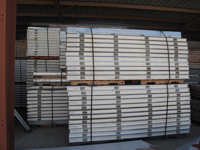 used walk in cooler panels