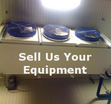 We buy walk in coolers, walk in freezers, supermarket cases, and all types of refrigeration.